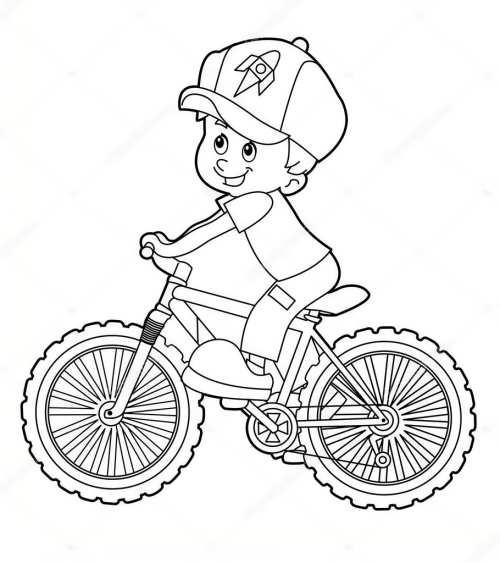 رنگ آمیزی دوچرخه برای بچه ها
