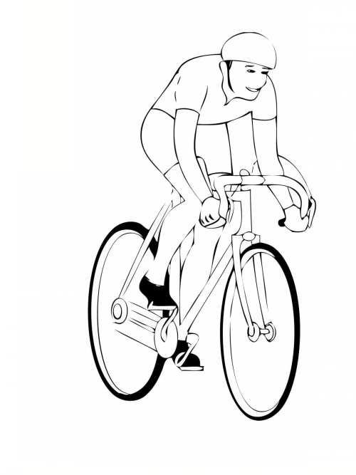 نقاشی دوچرخه