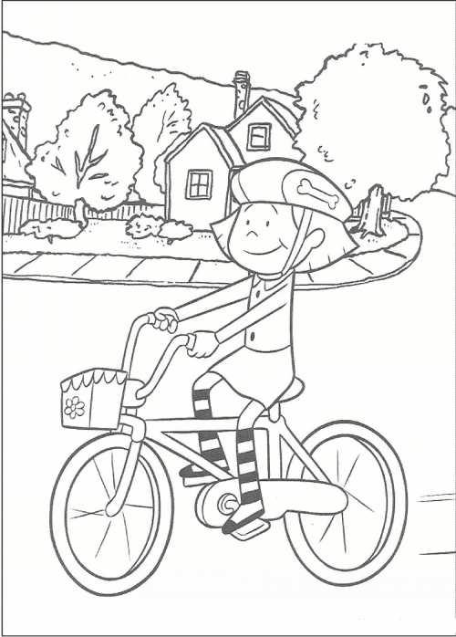 رنگ آمیزی زیبا دوچرخه برای بچه ها