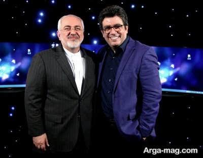 رضا رشید پور و محمد جواد ظریف