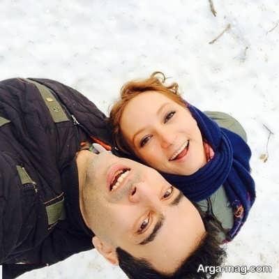 سحر ولدبیگی و شوهرش