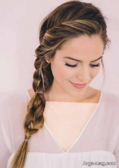 آرایش موی زیبا و شیک زنانه