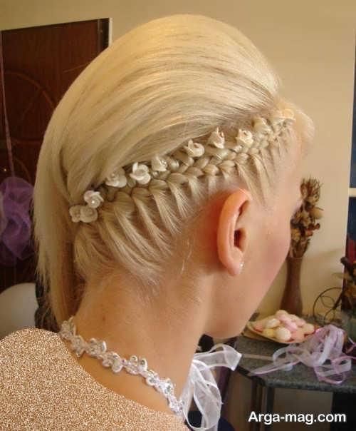 مدل های شینیون موی یک طرفه زنانه