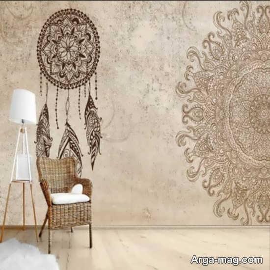 کاغذ دیواری کلاسیک لاکچری