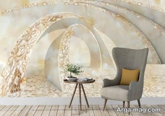کاغذ دیواری کلاسیک شیک