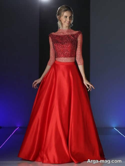 Cocktail dresses two piece model 15 - مدل لباس مجلسی دو تیکه دخترانه و زنانه با طرح های جذاب