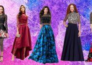 مدل لباس مجلسی دو تیکه