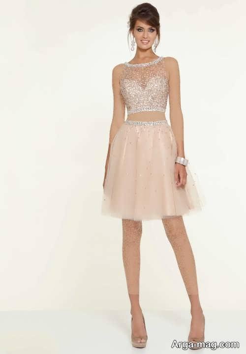 مدل لباس مجلسی شیک و زیبا دو تیکه