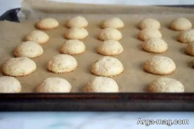 پختن کوکی های نارگیلی