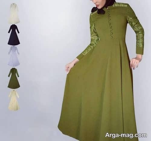 مدل لباس مانتو مکتبی