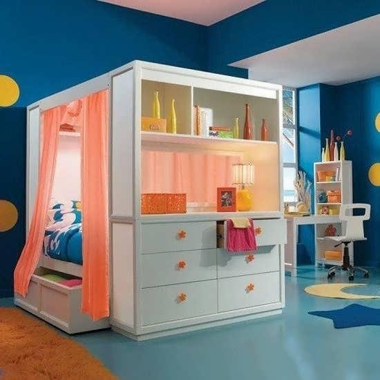 خلاقیت زیبا برای چیدمان اتاق نوزاد