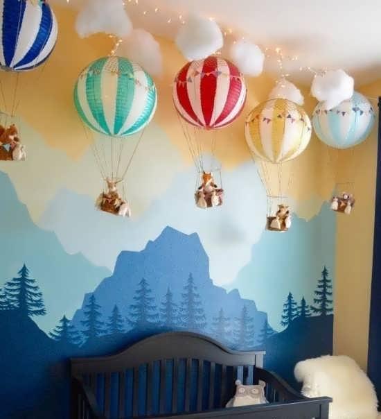 طراحی اتاق کودک با ایده شیک
