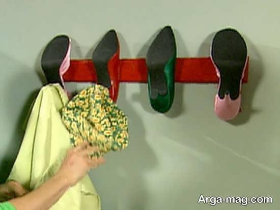 خلاقیت عالی با کفش کهنه