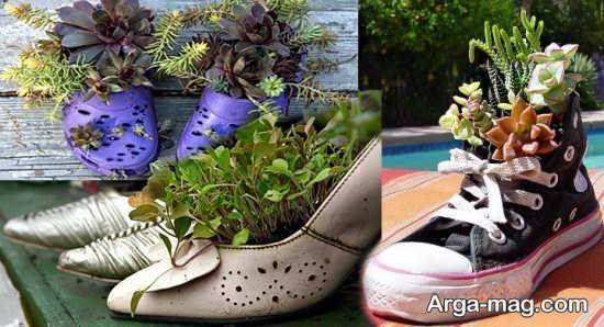 خلاقیت با کفش
