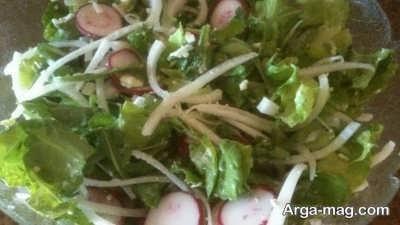سبزیجات سالاد دانمارکی