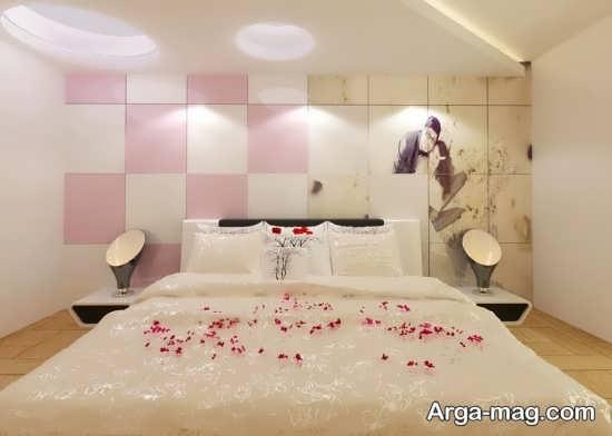تزیین اتاق خواب عاشقانه