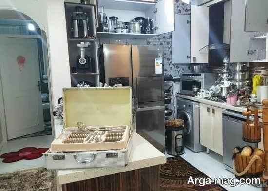 تزیین آشپزخانه عروس 97