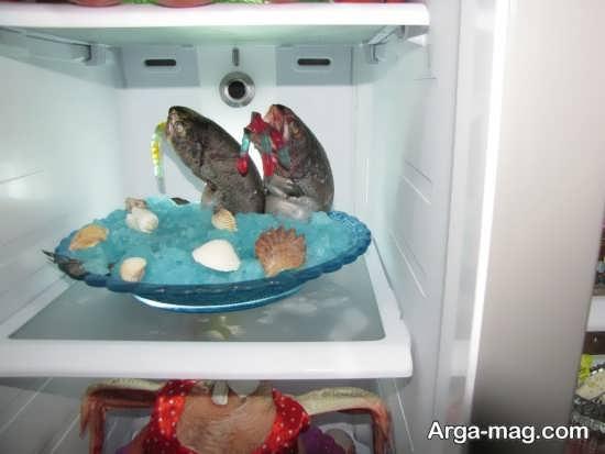 طراحی جالب ماهی یخچال عروس