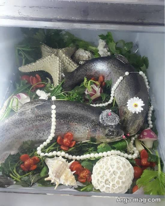 طراحی متفاوت ماهی یخچال عروس