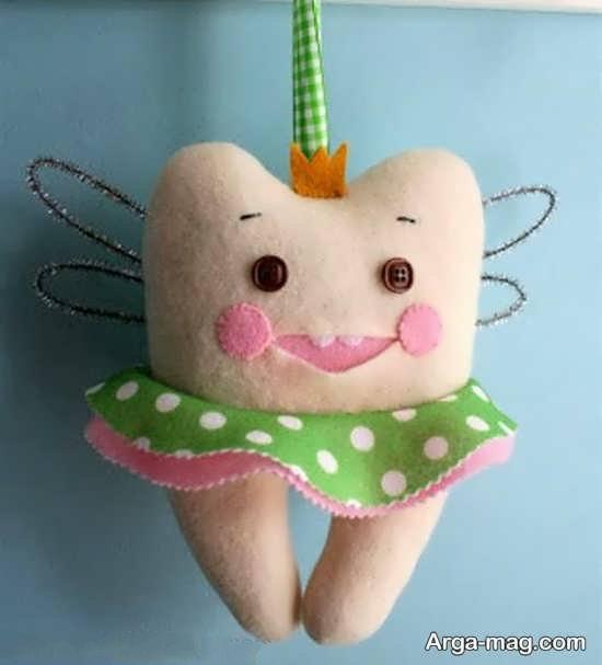 خلاقیت دندان عروسکی