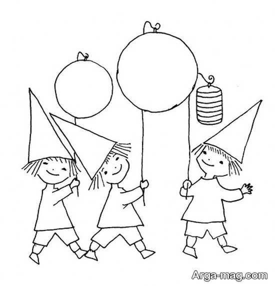 طرح گلدوزی برای بچه ها