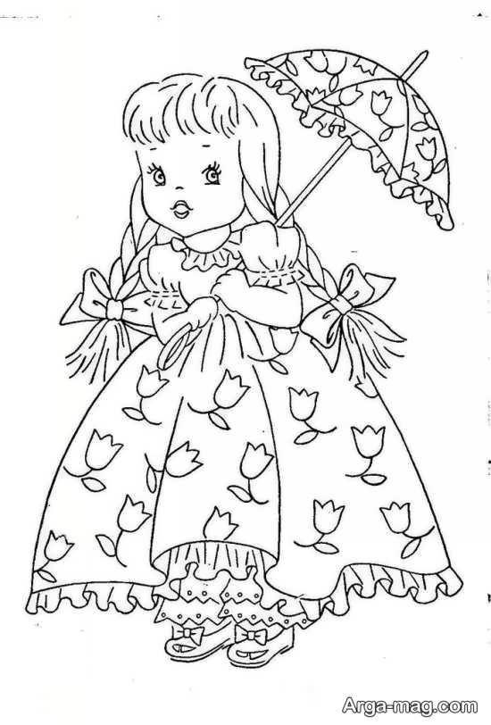 طرح گلدوزی برای کودکان دختر