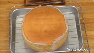 جدا کردن کیک از سینی فر