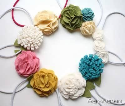 آموزش ساخت گل نمدی با ۴ روش متفاوت