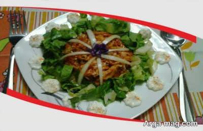 طرز تهیه نرگسی لوبیا سبز