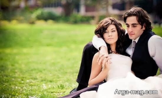 استایل جذاب عروس داماد