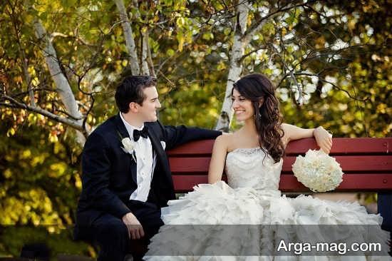 استایل عالی عروس