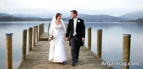 استایل زیبا عروس و داماد