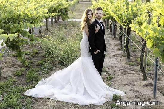 عکس زیبا عروس و داماد