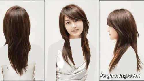 مدل مو دخترانه بلند و زیبا
