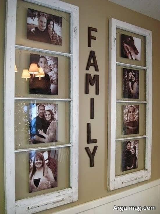 طراحی قاب عکس به صورت پنجره ای
