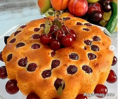 دستور تهیه کیک آلبالو
