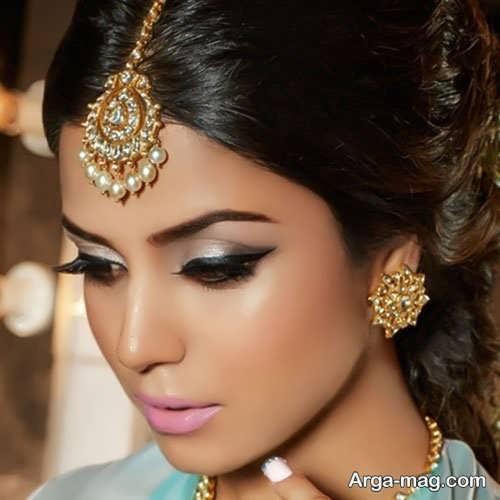 آرایش صورت شیک و زیبا هندی