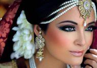 مدل آرایش صورت هندی