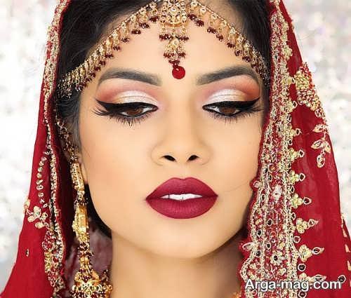 میکاپ هندی زیبا