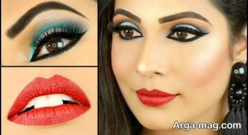 آرایش صورت زنانه هندی