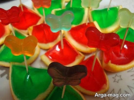 Jelly Decoration with Gummi candy 11 - ۲۵ روش تزیین ژله با پاستیل که دسر شما را جذاب تر می کنند