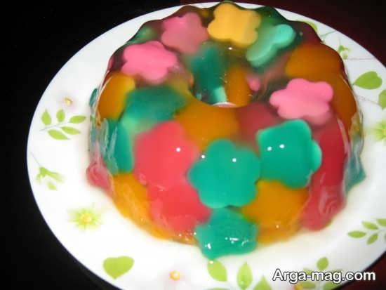 Jelly Decoration with Gummi candy 12 - ۲۵ روش تزیین ژله با پاستیل که دسر شما را جذاب تر می کنند