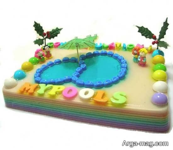 Jelly Decoration with Gummi candy 17 - ۲۵ روش تزیین ژله با پاستیل که دسر شما را جذاب تر می کنند