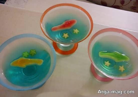 Jelly Decoration with Gummi candy 18 - ۲۵ روش تزیین ژله با پاستیل که دسر شما را جذاب تر می کنند