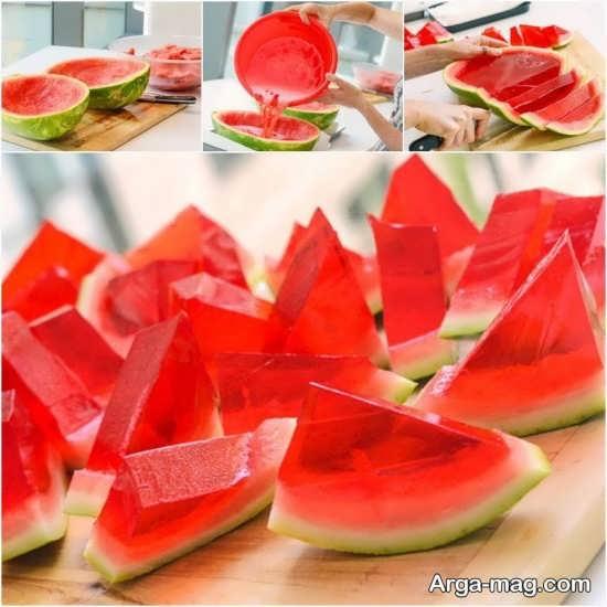 Jelly Decoration with Gummi candy 4 - ۲۵ روش تزیین ژله با پاستیل که دسر شما را جذاب تر می کنند