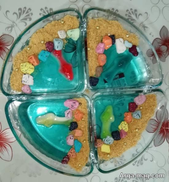 Jelly Decoration with Gummi candy 6 - ۲۵ روش تزیین ژله با پاستیل که دسر شما را جذاب تر می کنند