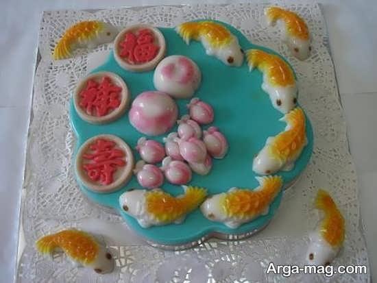 Jelly Decoration with Gummi candy 9 - ۲۵ روش تزیین ژله با پاستیل که دسر شما را جذاب تر می کنند