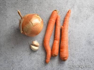 مواد لازم برای تهیه خورش عدس