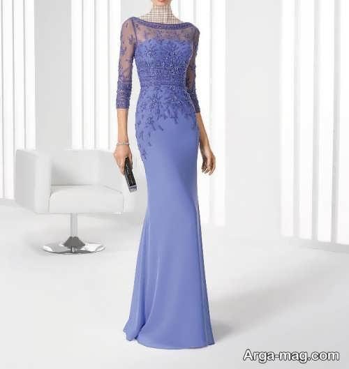 مدل لباس مجلسی شیک گیپور