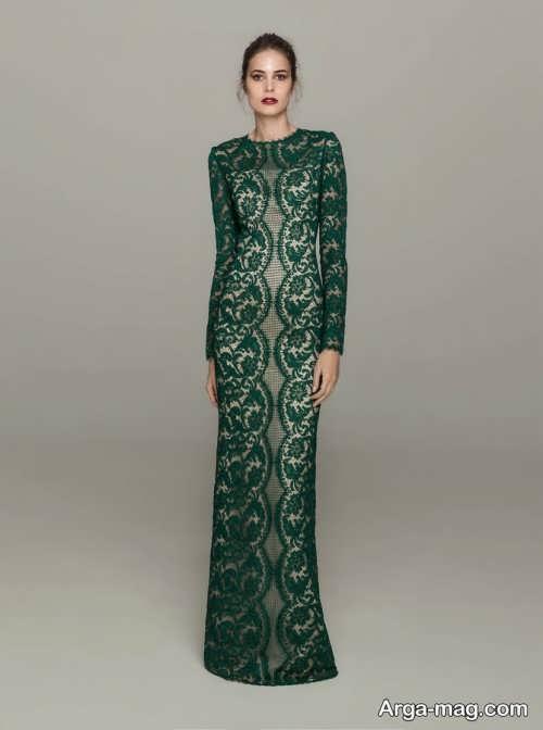 مدل لباس مجلسی زیبا و جدید گیپور